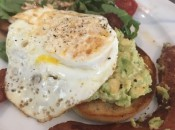 Fresh avocado in breakfasts is the latest trend in classic yet chic dining and lodging outlets