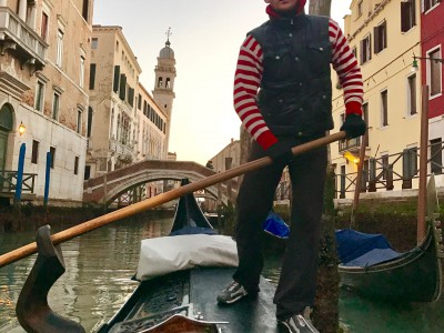 Gondoliere serenade passengers through the canals of Venice and under the Bridge of Sighs. (Photo by Michael Patrick Shiels)