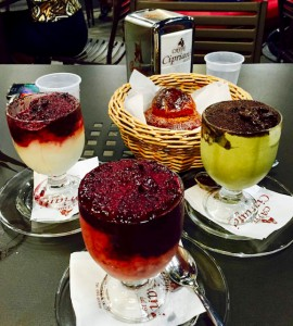 Bishop Raica tempted me with this image of granita and brioche in Acireale, Sicily. (Photo by Bishop Steven Raica)