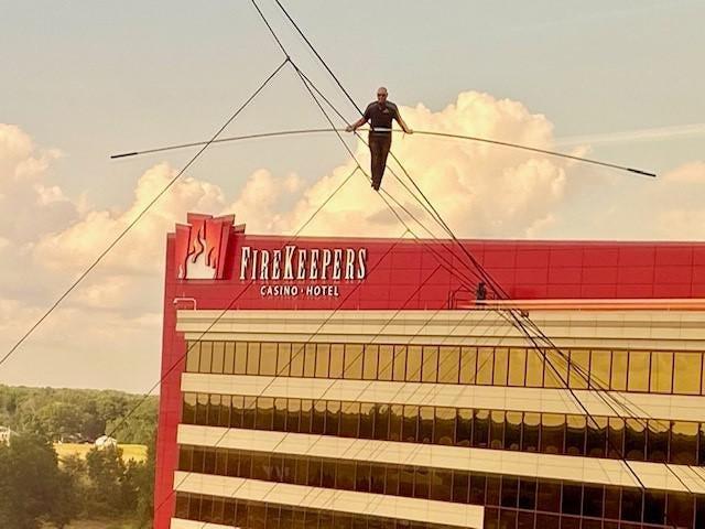 Nik Wallenda FireKeepers Casino