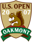 A squirrel hoarding his nuts is the logo of the 2007 US Open?