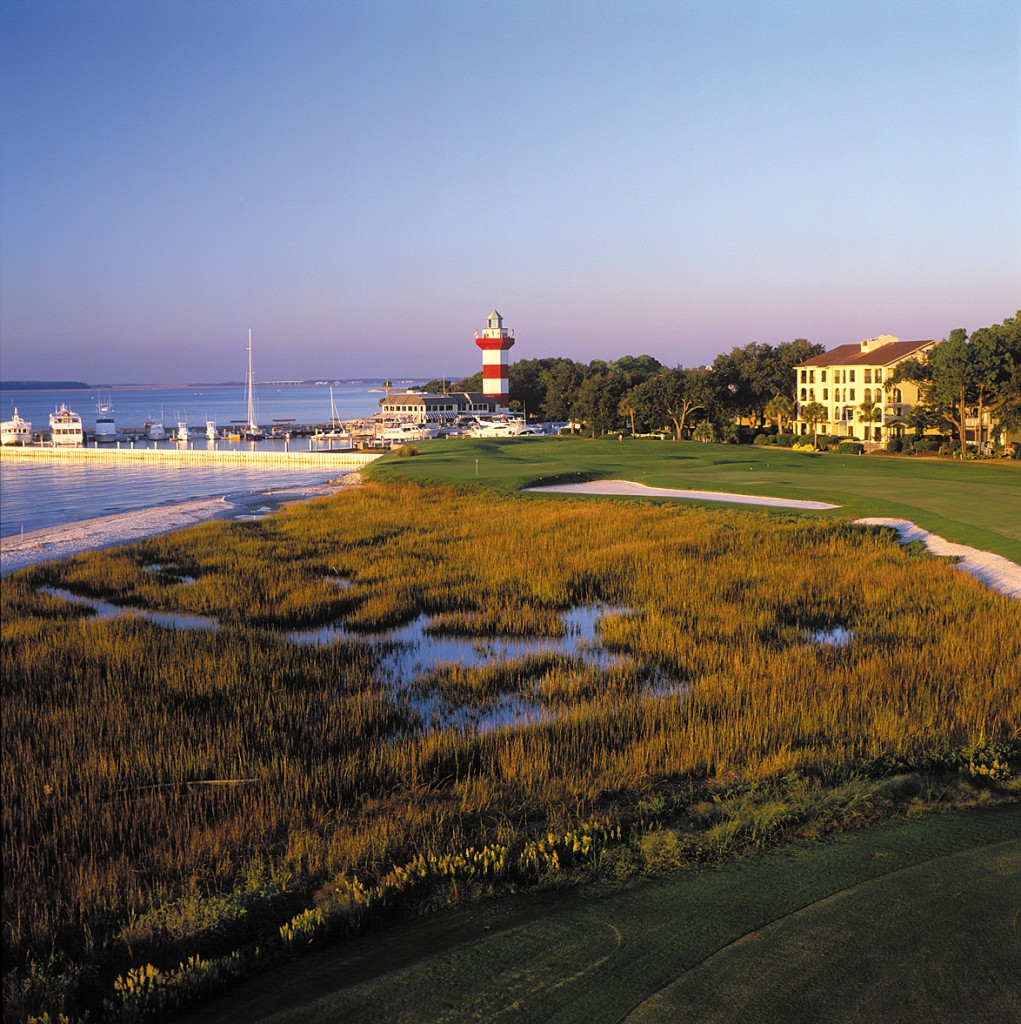 Harbour Town Golf Links, designed by Alice and Pete Dye