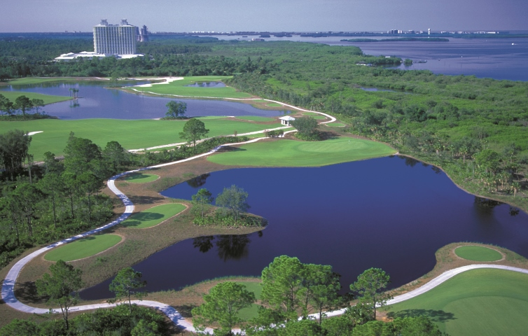 Raptor Bay Golf Club with the Hyatt Regency Coconut Point Resort & Spa