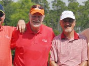 The Golf Road Warriors (from left): Hal Phillips, Tom Bedell, David Whyte, Brian McCallen