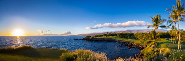 Think you can hit the third green at Mauna Kea? (Courtesy of Mauna Kea Resort Golf)