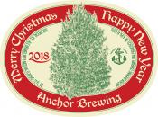 Anchor Christmas 2018 label