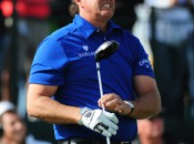 Phil Mickelson won't reach No. 1 unless he can control his drives better. Copyright Icon SMI.