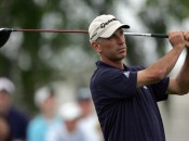 Corey Pavin shot a 69 on Thursday despite giving up 60 yards to some of his competitors off the tee. Copyright Icon SMI.