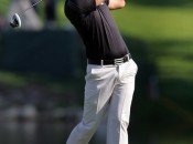 Dustin Johnson became the sixth player to win multiple FedExCup tournaments by taking The Barclays. Copyright Icon SMI.
