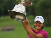 Yani Tseng has made a habit of lifting major championship trophies. Photo copyright Icon SMI.