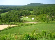 Probably nothing in Alabama can match the breathtaking beauty and heart-stopping nervousness at FarmLinks drop-shot 5th.