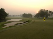 Sunrise at Muang Kaew GC, in the heart of otherwise urban Bangkok.