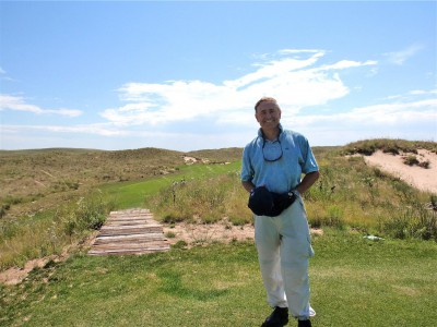 The author Bob Fagan at his beloved Ballyneal in Colorado.