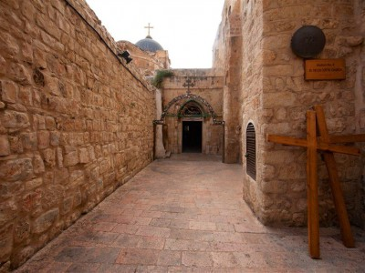via dolorosa Noam Chen 9th station