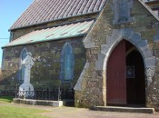 St. Vincent's Church and graveyard in tiny Ballyferriter, on the Dingle Peninsula, County Kerry, Ireland