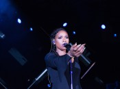 Chicago native Jennifer Hudson performed at Marriott Marquis grand opening (Photography by Jeff Schear Visuals)