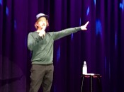 David Spade's appearance in Battle Creek was a trip and he spoke of travel (Photo by Michael Patrick Shiels)