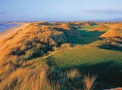 Scotland?  Ireland?  Try Tasmania -- the somewhat unlikely site of one of golf's great new links, Barnbougle Dunes.