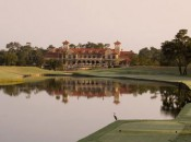 A view of the clubhouse at TPC Sawgrass.