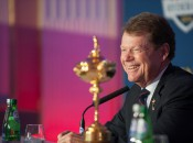 Will Tom Watson be smiling on Sunday night of the Ryder Cup?