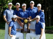 Reed, lower left, was part of consecutive NCAA titles at Augusta State