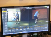 The Trackman doesn lie: The clubhead directly behind the hands (right) is a good thing.