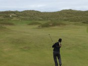 Fraserburgh's 13th hole, ``the Hillocks,'' is a short par four guarded by grassy mounds.