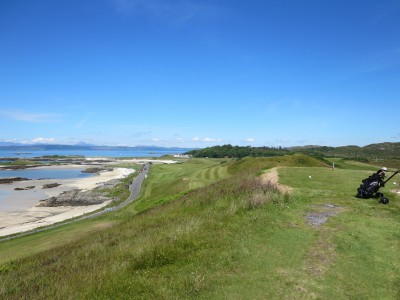 Little 9-holer Traigh is a gorgeous off-the-beaten path delight.