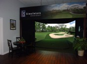 Compact simulator from aboutGolf