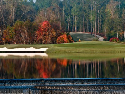 Eleventh hole at the Falls Course, Magnolia Grove