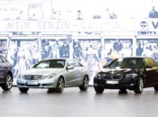 Don't settle for just one - drive all four of these German beauties at high speeds!