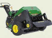 This greens mower is state-of-the-art now, but someday a robot drone could take its place
