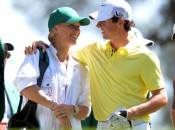 Rory McIlroy and Caroline Wozniacki in happier times at the 2013 Masters (Photo: AFP/Getty Images)