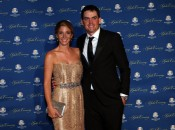 Keegan Bradley and Jillian Stacey make the scene at the 2014 Ryder Cup opening ceremony and gala (Photo: Getty Images)