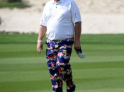 John Daly rocks SpongeBob SquarePants at the British Open (Photo: Getty Images)