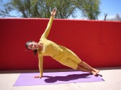 Side Plank (Visisthasana) strengthens major golf muscles leading to increased power and distance.