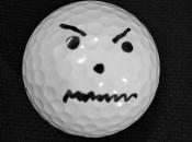 angry golf ball